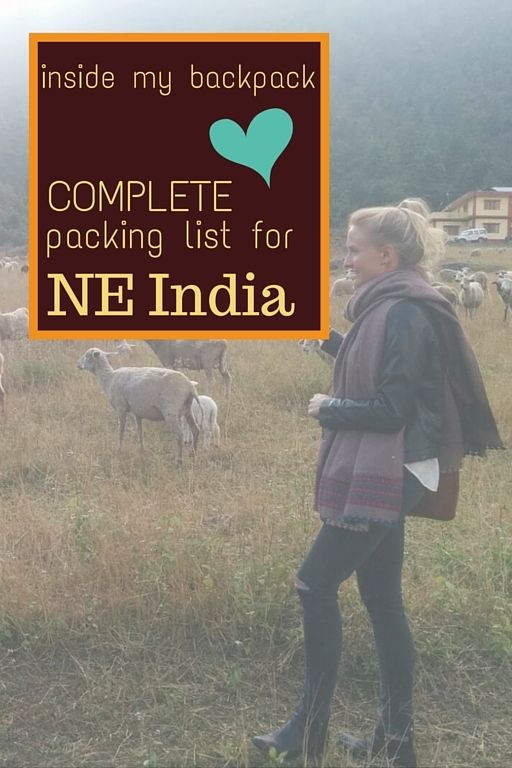I love writing packing lists! Northeast India was cold when I was there BUT the best time to go to NE is in the cold months, as outside of them the monsoon comes. Please read my guide to NE with all the NE India FAQ, answered to help plan your trip to this diverse and lesser travelled area of India!