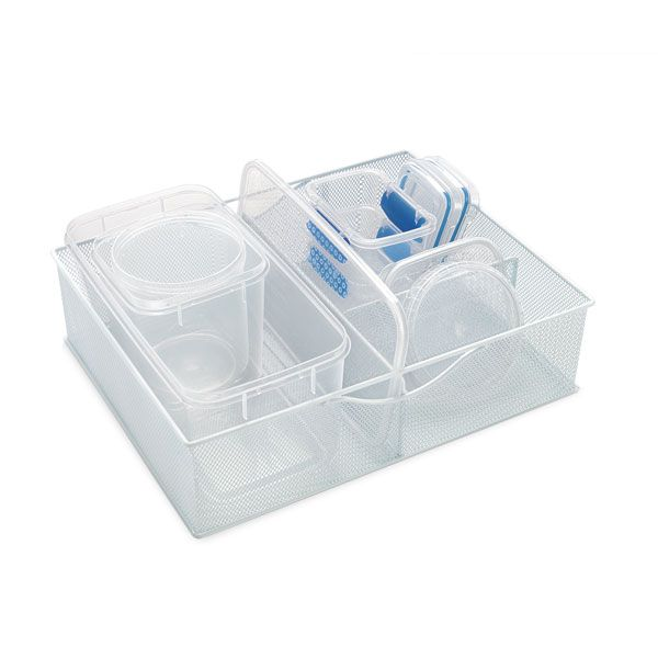 The Container Store > White Mesh Food Storage Organizers