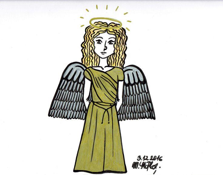 IG: @maggie_creates_ Angel by @maggiestopko