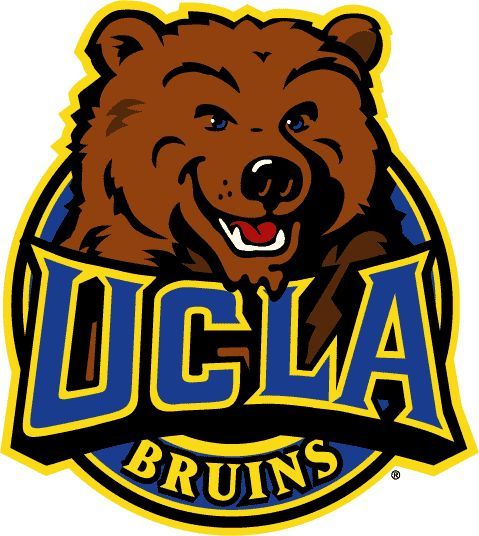 UCLA Bruins Alternate Logo (1998) - Bear in ring with UCLA written in blue