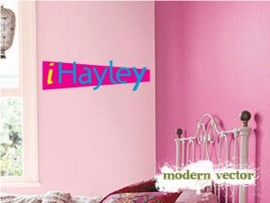 Personalized ICarly Wall Decals   ICarly Bedroom