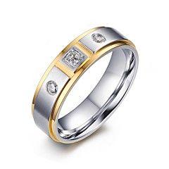 Feminino+Maxi+anel+Zircônia+cúbica+Moda+Jóias+de+Luxo+bijuterias+Aço+Inoxidável+Zircão+Zircônia+Cubica+Chapeado+Dourado+Jóias+Para+–+BRL+R$+24,50