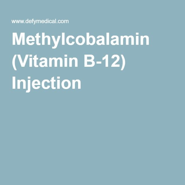 Methylcobalamin (Vitamin B-12) Injection
