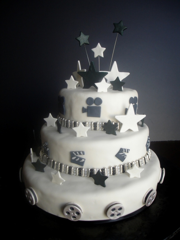 hollywood themed wedding cakes 134 best theme images on decorated 15272