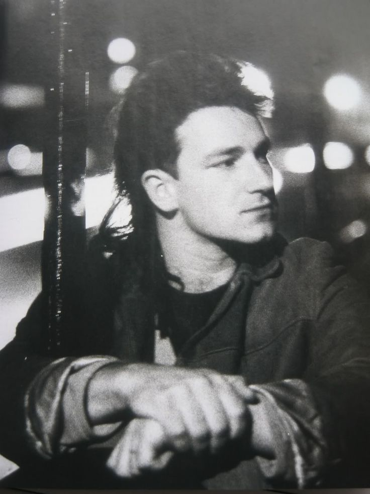 Stunning young Bono