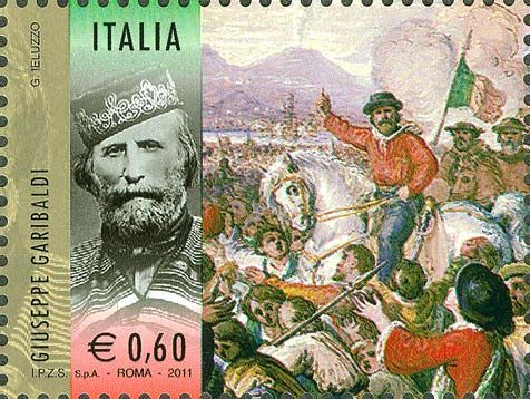 GIUSEPPE GARIBALDI - stamps