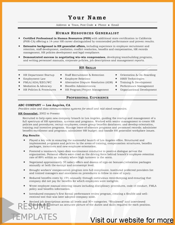 resume template free cover letter sample in 2020 Resume