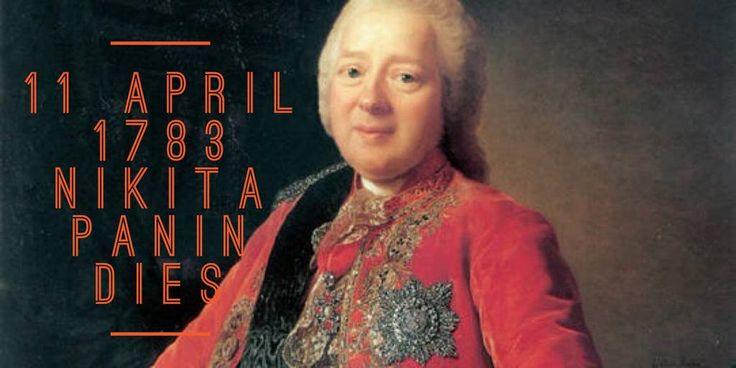11 April 1783. Nikita Panin dies