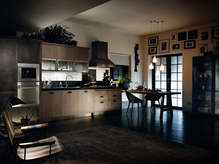 Modern Social Kitchen Diesel Scavolini ~ Best Of Home Design Ideas