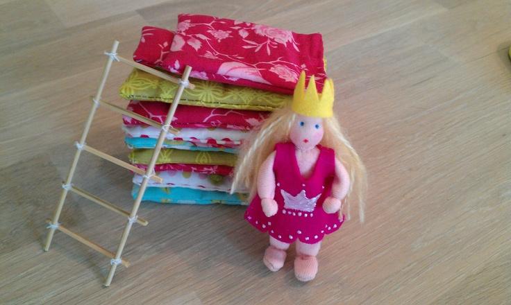 Princess and the pea - Patroontje voor prinsesje aangepast van Atelier Pippilotta - Zomerpicknick