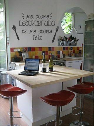 62 best vinilos para cocina images on pinterest - Vinilos para la cocina ...