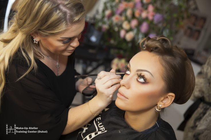 http://www.make-up.ae/courses/ #makeup #hairstyling #courses #dubai