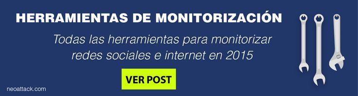 """Banner del post """"Las mejores herramientas de monitorización de redes sociales e internet"""""""
