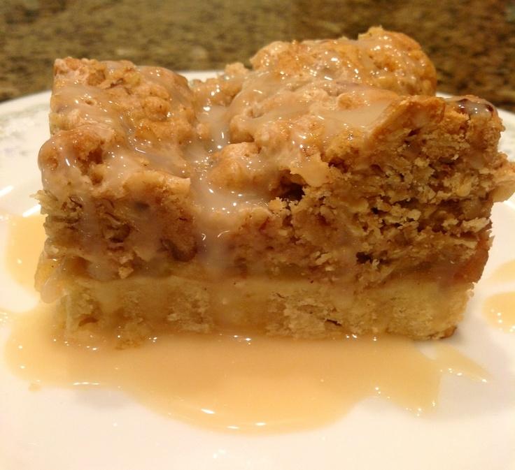 Carmel Apple Pie Bars