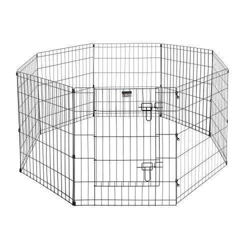 """24"""" Exercise Playpen for Dogs Size: Large - http://www.thepuppy.org/24-exercise-playpen-for-dogs-size-large/"""