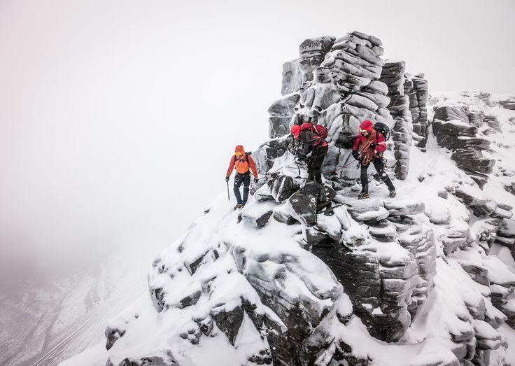 Martin Moran guiding Liathach Traverse, Scotland