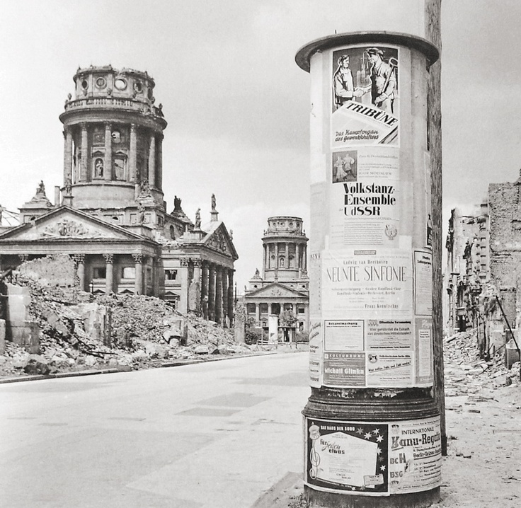 Berlin after the 2nd World War.    (East Berlin, GDR / DDR, 1954)     Photographer: Sem Presser, Holland.