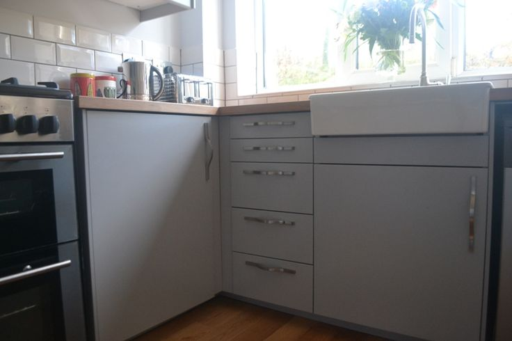 My Completely Renovated Kitchen With Ikea Veddinge Grey