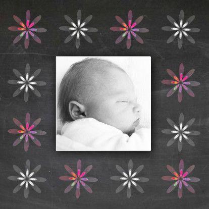 Geboortekaartje met schoolbord - Geboortekaartjes - Kaartje2go