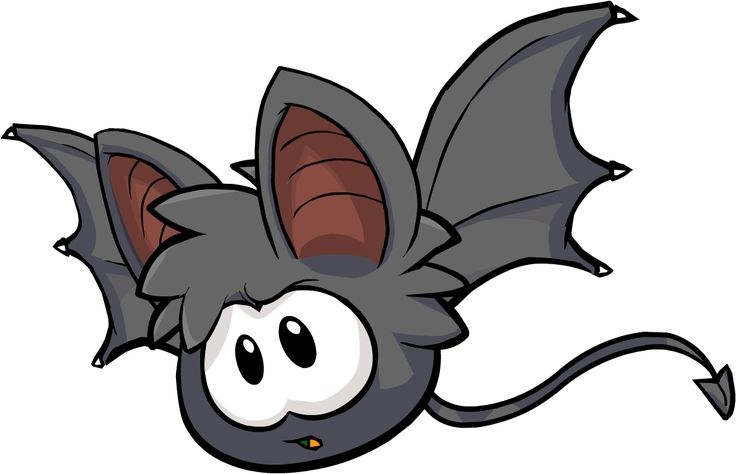 Club Penguin bat Puffle | Bat Puffle