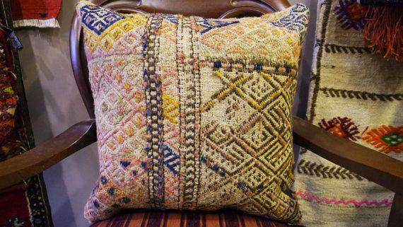 Kilim rug, Kilim for home, Kilim pillow, Cushion Cover, Pillow Cover, Kilim Pillow Cover, Kilim Pillow, Contemporary pillow, Small Rug, 6