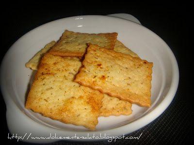 DOLCEmente SALATO: Crackers velocissimi alle spezie