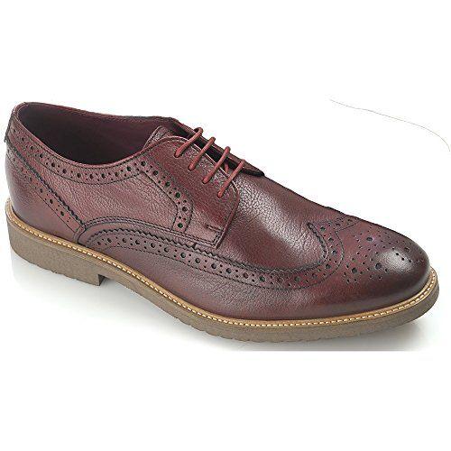 London Brogues Acento de Gatsby Zapatos Tan/Negro 9 Tan/Black 4AVIHSD