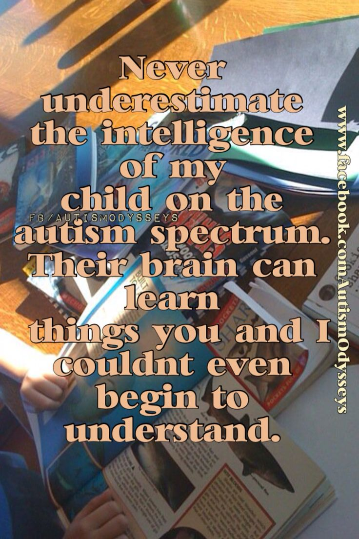 Understanding and autism b tie