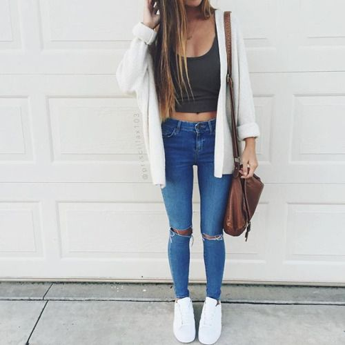 Fashionable Jeans Tumblr Outfit Goals Pinterest