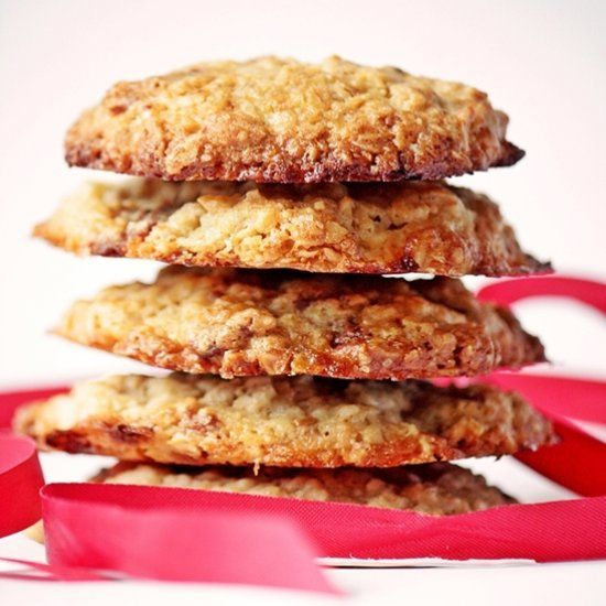 Oatmeal & Milka Cookies (scroll down for English)