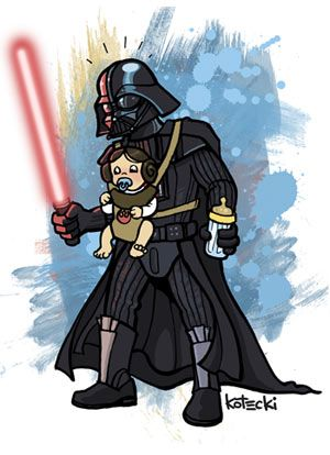 Darth Vader's Do's and Don'ts for Dads.