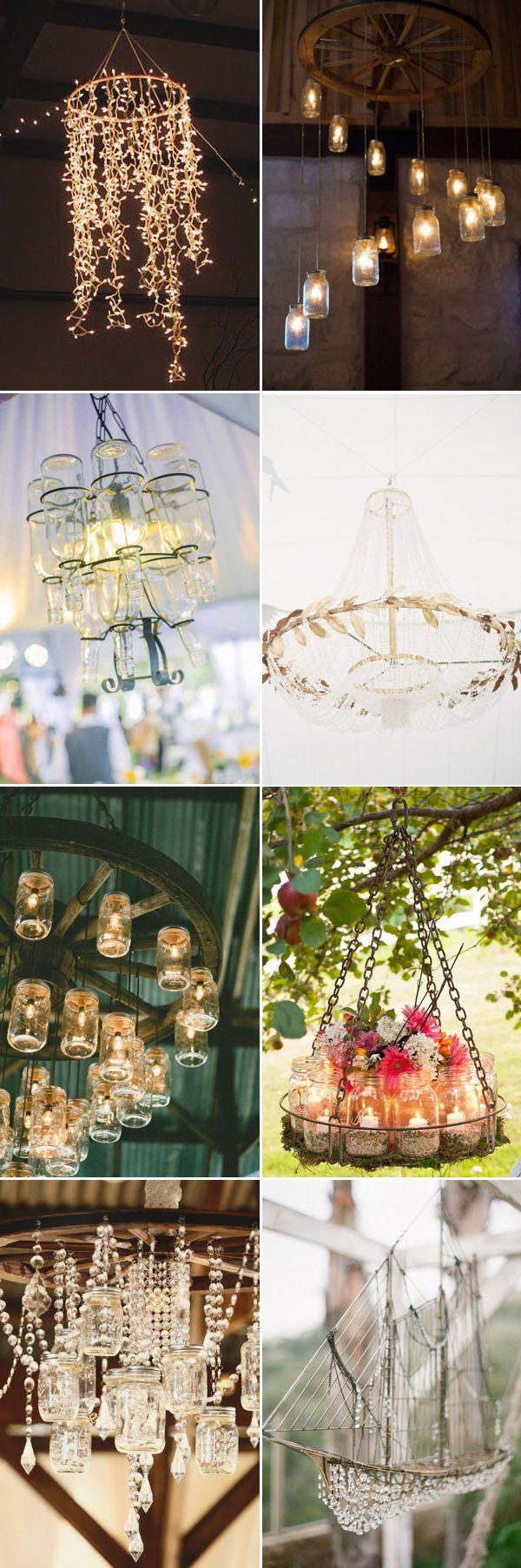 1000 Ideas About Diy Chandelier On Pinterest Handmade