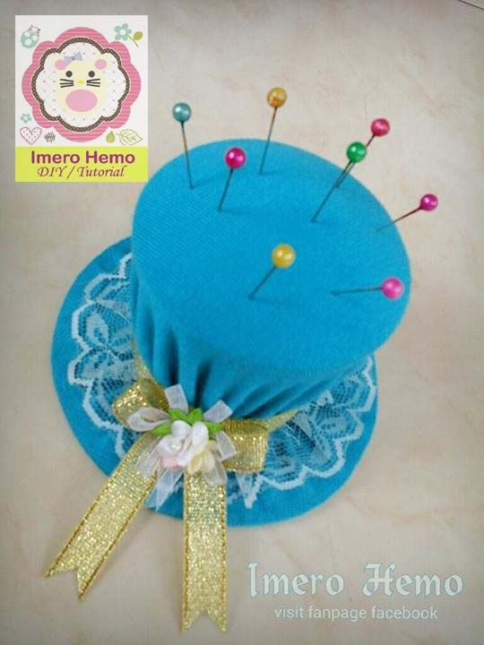 Hat Pincushion Tutorial in Bahasa Indonesia