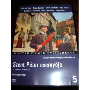 St. Peter's Umbrella / Szent Peter Esernyoje / 1958 / Region 2 PAL DVD Hungarian Movie / Hungarian options only / No English options / Mikszth Kalman regenyenek Filmvaltozata / Ban Frigyes fimje / Torocsik Mari, Pecsi Sandor, Karol Machata, Rajz Janos, Egri Istvan / 94 minutes $14