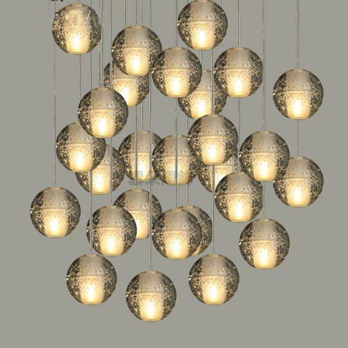 Modern-Glass-Ball-Pendant-Light-Bar-Cafe-Dinning-Lighting