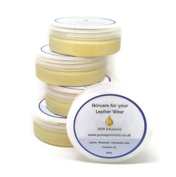 Skincare wax for Leatherwear goods. Leather cleaner. Waterproofer balsam wax. Nourishing, protectant. Furniture wax. Conditioning wax balsam