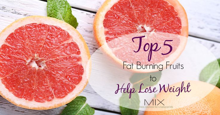 5 Fat-Burning Fruits to Help Lose Weight - Did you know eating certain fruits can accelerate weight loss? Snack on these fruits the next time hunger strikes!