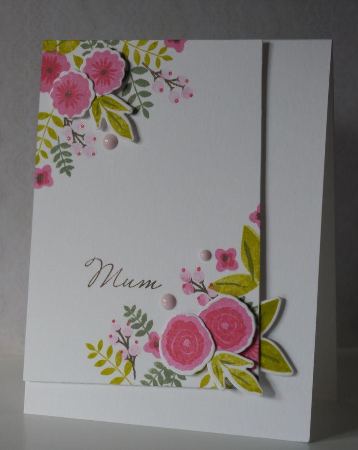 Памятная открытка маме
