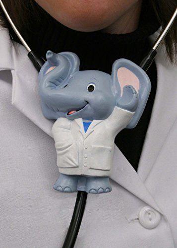 Pediatrics Stethoscope Attachment, Einstein the Elephant Accessory