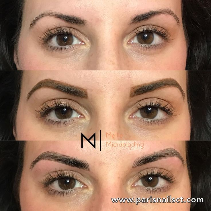 Before and after eyebrows 3d microblading semi permanent for Eyebrows tattoo price