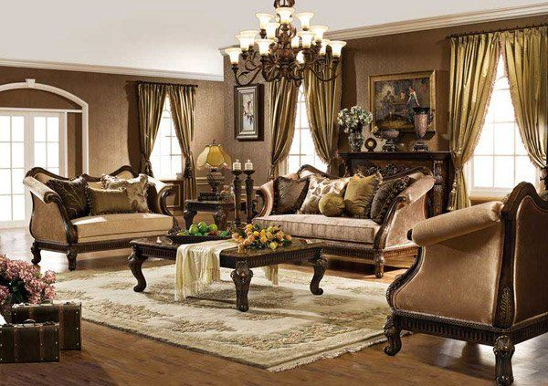 Traditional Living Room Furniture, Italian Living Rooms