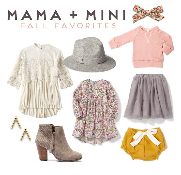 Fall Styles // Mama + Mini