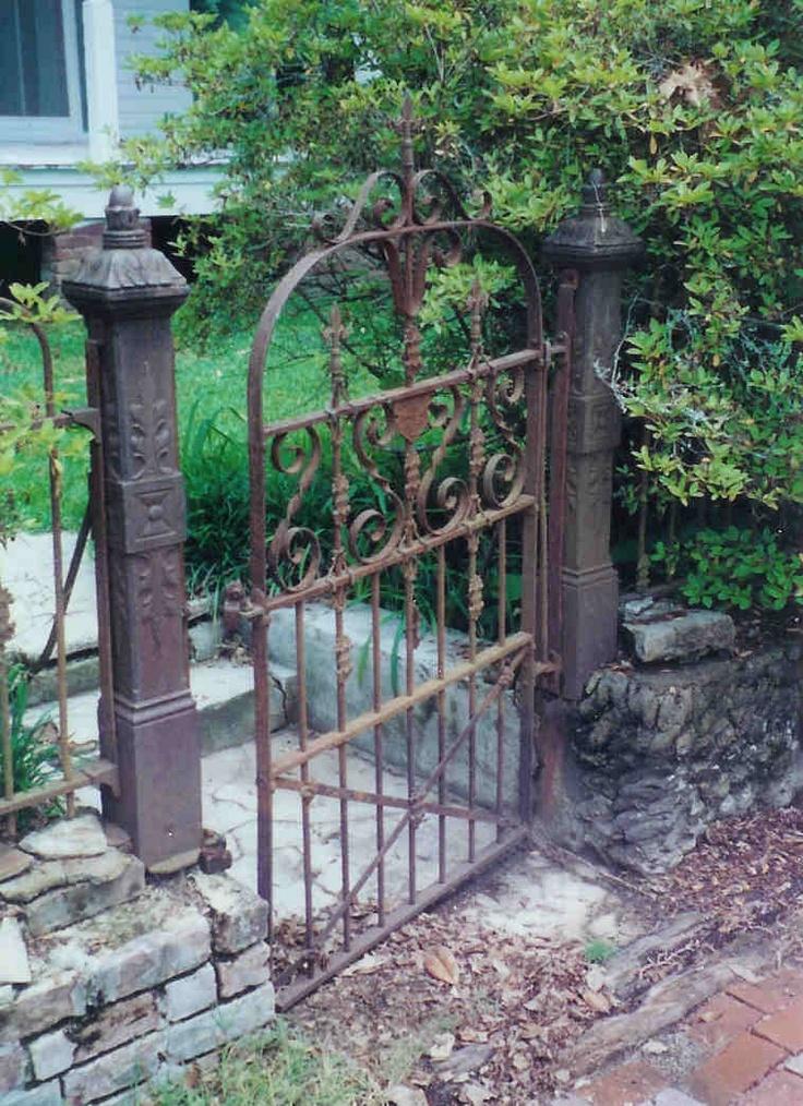 11 Best Images About Antique Iron Gates On Pinterest