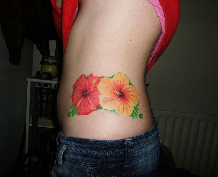 62 best images about shoulder blade tattoo on pinterest for Hibiscus flower tattoo shoulder blade