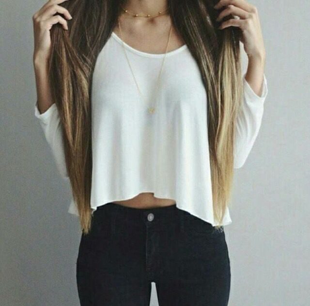 Ombré and cute clothes