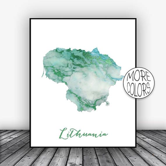 Lithuania Print, Watercolor Print, Lithuania Map Art, Map Painting, Map Artwork, Country Art, Office Decor, Country Map ArtPrintsZoe #CountryMap #MapArtPrint #ArtPrint #CountryArt #OfficeDecor #LithuaniaPrint #WatercolorPrint #CountryMapArt #ArtPrintsZoe #Lithuania