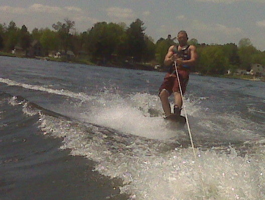 Try to get some wakeboarding in at least a couple times each summer.