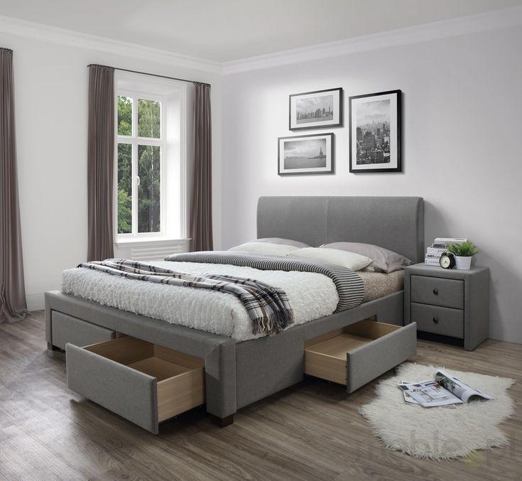 Łóżko z szufladami MODENA, Halmar - Meble