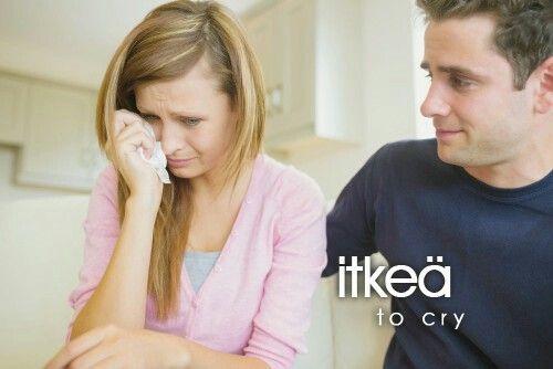 itkeä ~ to cry