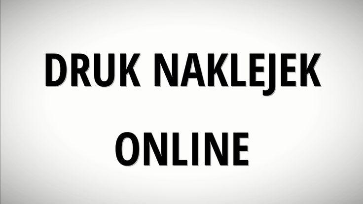 Naklejki - drukarnia internetowa POLINAL